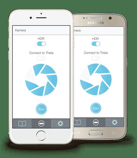 Handy App 360° Grad Touren Immobilien
